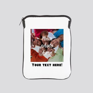 Your Photo And Text iPad Sleeve