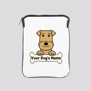 Personalized Airedale iPad Sleeve