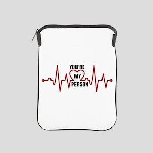 Grey's Anatomy My Person iPad Sleeve