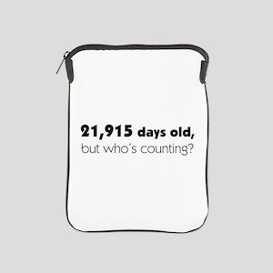 60th Birthday iPad Sleeve
