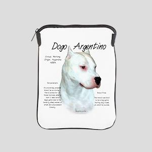 Dogo Argentino iPad Sleeve