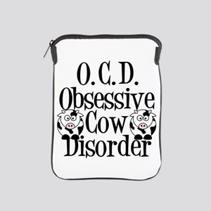 Obsessive Cow Disorder iPad Sleeve