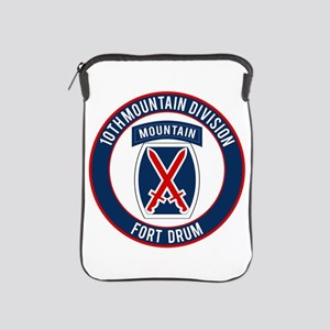 10th Mountain Ft Drum iPad Sleeve