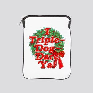 Triple Dog Dare A Christmas Story iPad Sleeve