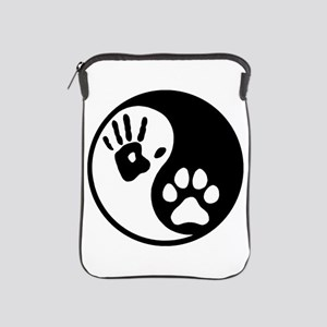 Human & Dog Yin Yang iPad Sleeve