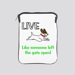 Live the gates open iPad Sleeve