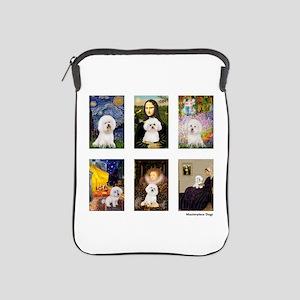 Famous Art Bichon (clr) iPad Sleeve