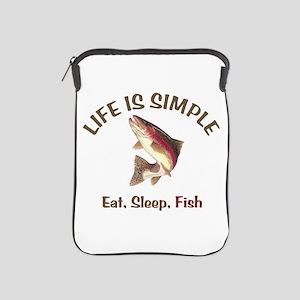 Life is Simple iPad Sleeve