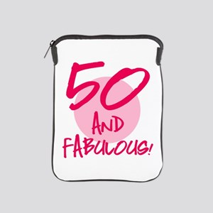 50 And Fabulous iPad Sleeve