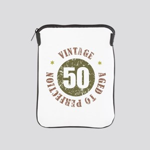 50th Vintage birthday iPad Sleeve