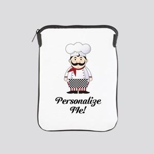 Personalized French Chef iPad Sleeve