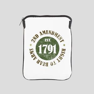 2nd Amendment Est. 1791 iPad Sleeve