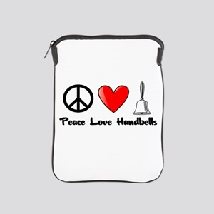Peace, Love, Handbells iPad Sleeve