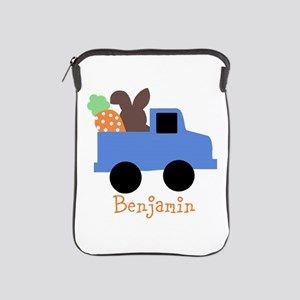 Easter time truck personalized iPad Sleeve