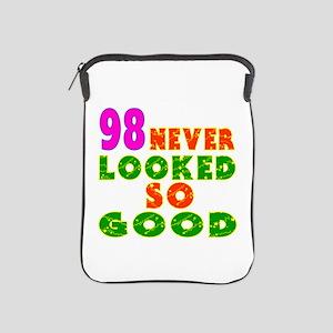 98 Birthday Designs iPad Sleeve