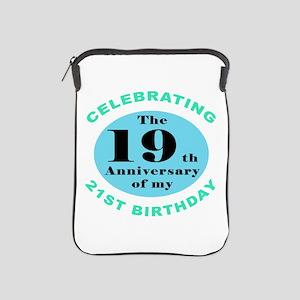 40th Birthday Humor iPad Sleeve