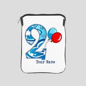 2nd Birthday Personalized iPad Sleeve
