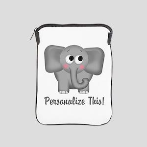Cute Elephant Personalized Ipad Sleeve