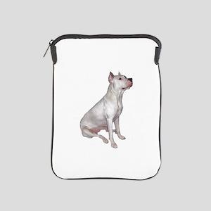 Dogo Argentino (Wht)-JTD iPad Sleeve