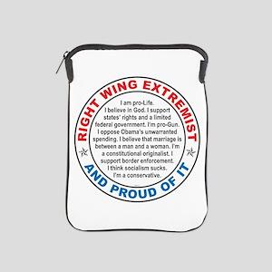 Right Wing Extremist iPad Sleeve