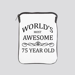 World's Most Awesome 75 Year Old iPad Sleeve