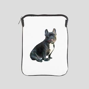 French Bulldog (blk)1 iPad Sleeve