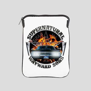 Supernatural Wayward Sons silver iPad Sleeve