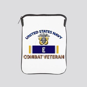 Navy E Ribbon - Cbt Vet Ipad Sleeve