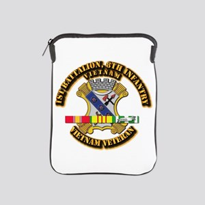 1st Battalion, 6th Infantry iPad Sleeve