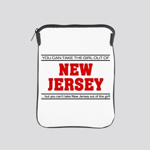 'Girl From New Jersey' iPad Sleeve