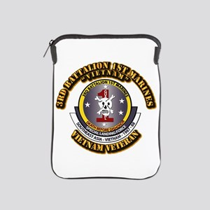 SSI - 3rd Battalion - 1st Marines USMC VN iPad Sle
