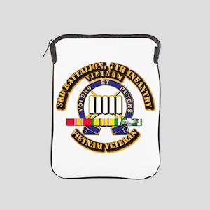 3rd Battalion, 7th Infantry iPad Sleeve