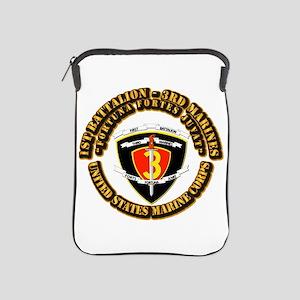 SSI - 1st Battalion - 3rd Marines With Text USMC i