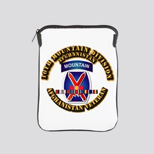 Army - 10th Mountain Div w Afghan SVC Ribbons iPad