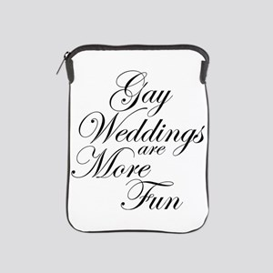 Gay Wedding iPad Sleeve
