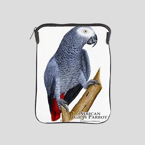 African Gray Parrot iPad Sleeve
