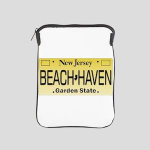 Beach Haven NJ Tag Giftware iPad Sleeve