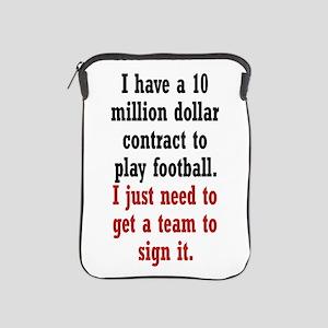 Football Contract iPad Sleeve