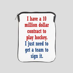 Hockey Contract iPad Sleeve