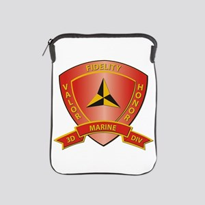USMC - HQ Bn - 3rd Marine Division iPad Sleeve