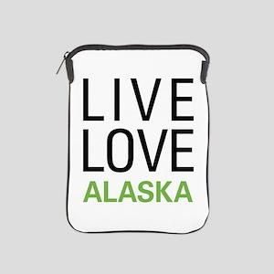 Live Love Alaska iPad Sleeve