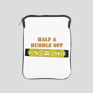 Half A Bubble Off iPad Sleeve