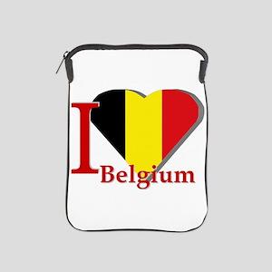 I love Belgium iPad Sleeve