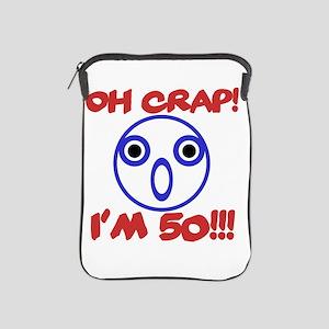 Funny 50th Birthday iPad Sleeve