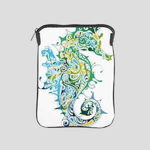 Paisley Seahorse iPad Sleeve