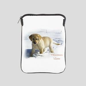 Labrador Retriever Christmas iPad Sleeve