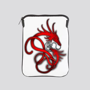 Norse Dragon - Red iPad Sleeve