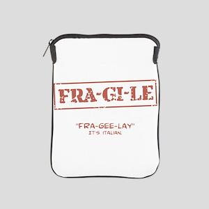 FRA-GI-LE [A Christmas Story] iPad Sleeve