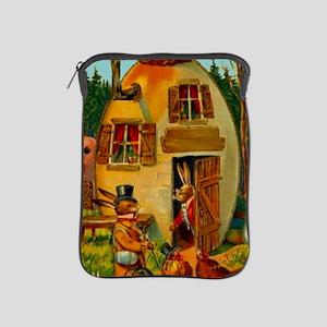 easter-egg-house iPad Sleeve