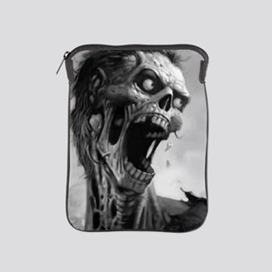 screamingzombievert_mini poster_12x18- iPad Sleeve